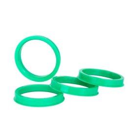 Кольцо центровочное 72,6-57,1 h=6мм ВСМПО (к-т 4 шт.)