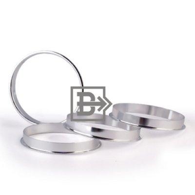 Кольцо центровочное 72,6-57,1 алюминий
