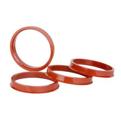 Кольцо центровочное 72,6-63,4 h=6мм ВСМПО (к-т 4 шт.)