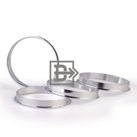 Кольцо центровочное 73,1-63,4 алюминий