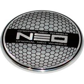Стикер (наклейка) Neo, диаметр 60 мм, алюминий
