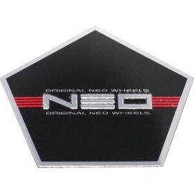 Стикер (наклейка) Neo, пятиугольная, алюминий